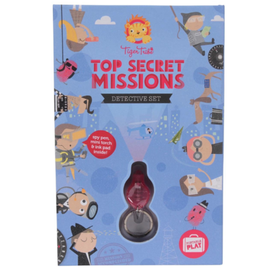 Top Secret Missions- Detective Set