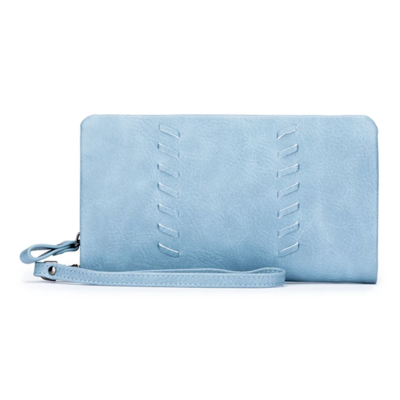 Sky Wallet Cornflower Blue